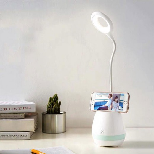 Table Lamp with Pen Holder