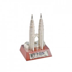 """3"""" KLCC with Wooden Base"""