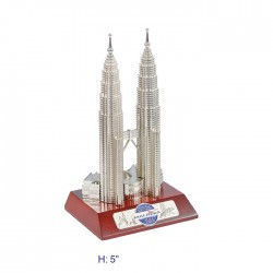 """5"""" KLCC with Wooden Base"""