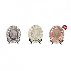 Round Shape KLCC Display Plate with Ashtray