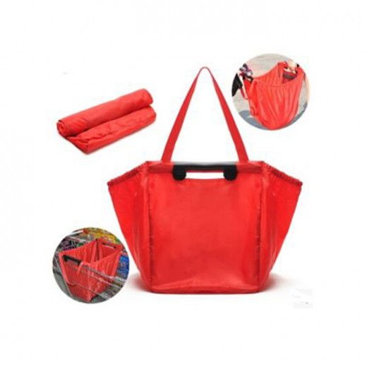 Functions Fordable Shopping Bag with Pouch