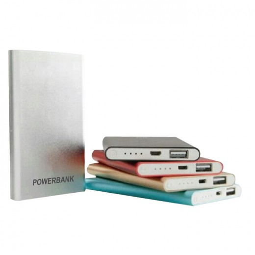 Ultra Slim Portable Charger Metal Power Bank-5000mAh