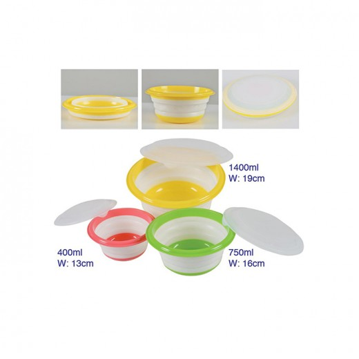 3 IN 1 Foldable Bowl