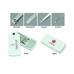Handy 4 in 1 Manicure Set w/Mirror
