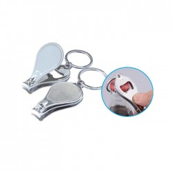 Nail Clipper & Opener Keychain
