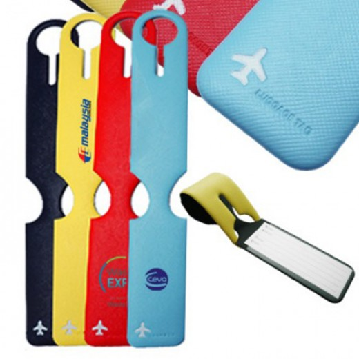Colorful Pu Luggage Tag