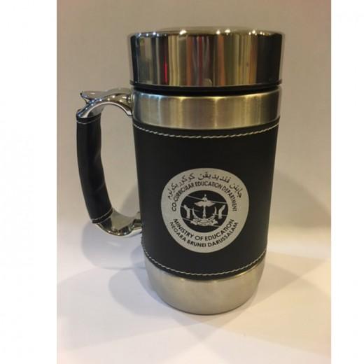 Ministry Of Education Negara Brunei Darussalam PU Thermos Mug