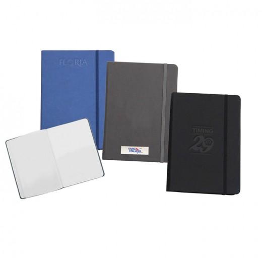 A5 Luxury Feel PU Skin Notebook-Plain