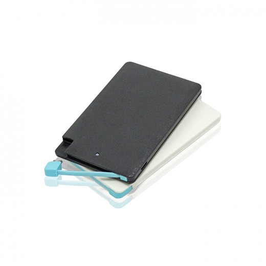 Credit Card Portable Charger Power Bank-2200mAh
