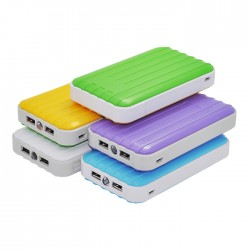 Luggage Shaper Portable Charger Power Bank-6600mAh