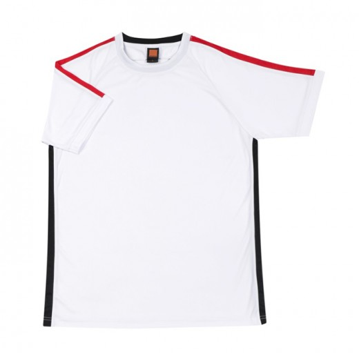 Unisex Polyester Round Neck Short Sleeve