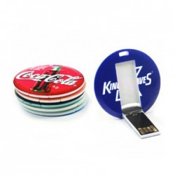 Round Shape Card Pendrive