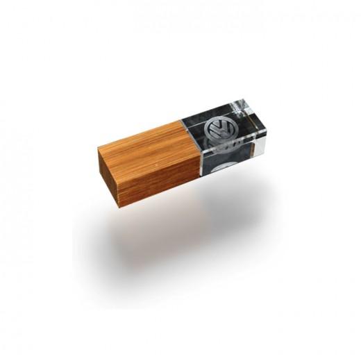Crystal Wood USB Flash DFrive