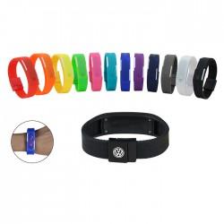 Sporti Waterproof LED Silicon Wristwatch