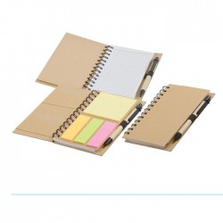 Eco Sticker Notepad with Pen