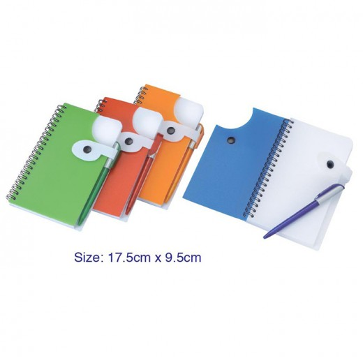 Long Spiral Bound with Pen