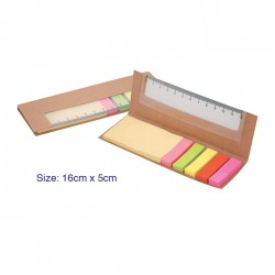 Mini Eco Notepad with Ruler