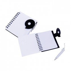 Ring Bind Notebook With Pen