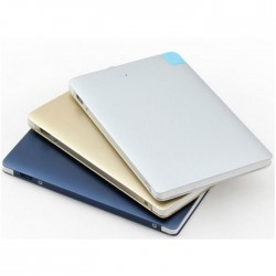 Metal Credit Card Portable Charger Powerbank 4- 4000mAh